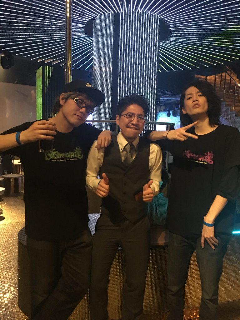 JB CRAZY NIGHTに『東西回胴連』LIVE出演!
